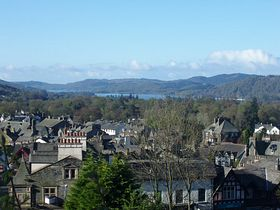Windermere and Lake from Orrest Head © Francine Gould