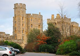 Windsor Castle viewed from the Castle Hill entrance. © Alan Whitehead