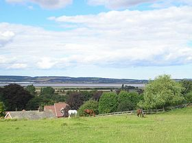 A view over the Humber from the village of Winteringham © Christine Hammond