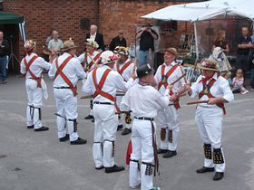 Morris Dancers at the Steam Fair © Jenny Crowther