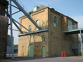 The carefully restored Old Winding House, Woodhorn © Jo Baron