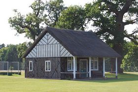 Cricket Pavillion © Philip Morgan
