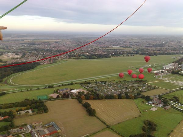 Balloons Over York Racecourse