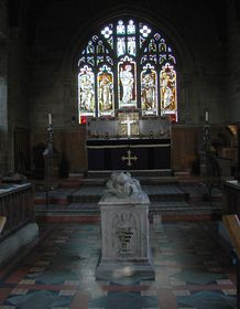 Youlgreave Church interior © Jeffrey Darlington